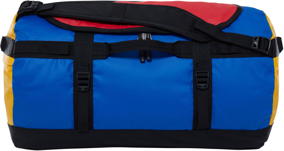 """The North Face Base Camp Duffel S Bright Cobalt Blue / TNF Black"""